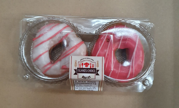 Island's Choice Iced Ring Doughnuts 2 Pack